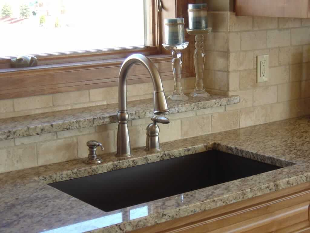 Installing Kitchen Countertop And Sink