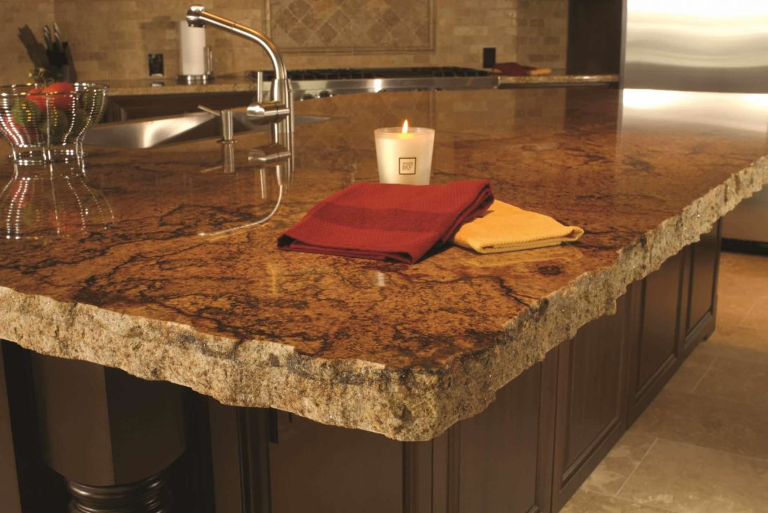 Chocolate Swirl Granite 16118