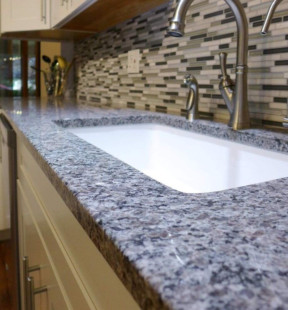 Gray Granite Kitchen: Countertops, Pictures, Pricing, Samples