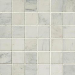 Arabescato Carrara 2x2 Honed In 12x12 Mesh