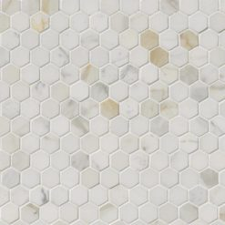 Calacatta Gold 1inch Hexagon Polished