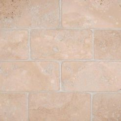 Durango Cream Subway Tile Tumbled 3x6