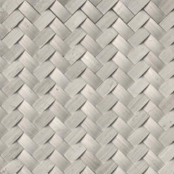 Mystic Cloud Arched Herringbone Honed