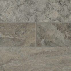 Silver Travertine Subway Tile 4x12