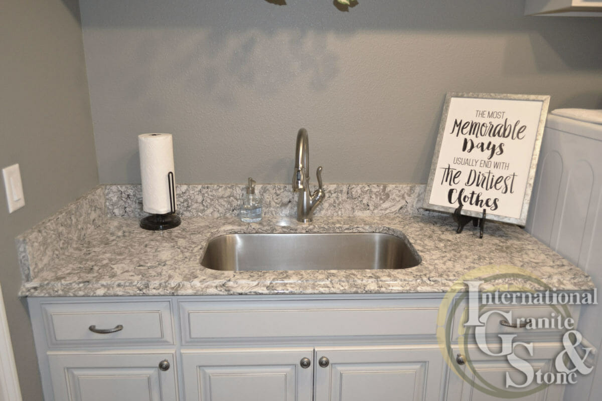 Bellingham Cambria Quartz Laundry Room Ogee Edge