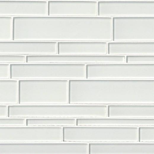 Ice Interlocking Pattern Backsplash Tile